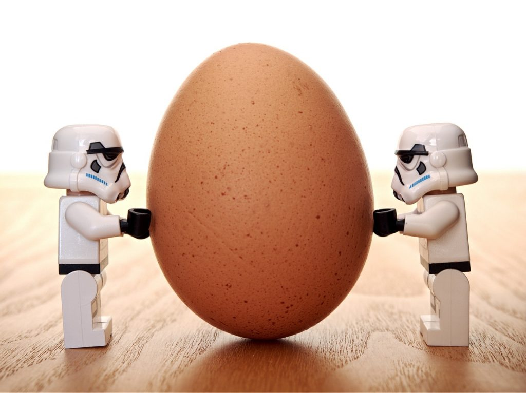stormtrooper, egg, lego